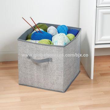 China Foldable Fabric Storage Containers Cube Organizers Closet Organizer Box