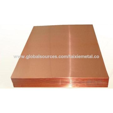 China C10100 Oxygen Free Electronic Copper Plate Sheet