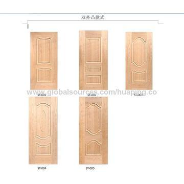 ... China Coloration Teak/Cherry Wooden Veneer Laminate Molded HDF Door Skins ...  sc 1 st  Global Sources & China Coloration Teak/Cherry Wooden Veneer Laminate Molded HDF Door ...