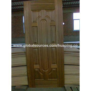 ... China Coloration Teak/Cherry Wooden Veneer Laminate Molded HDF Door Skins ...  sc 1 st  Global Sources & China Coloration Teak/Cherry Wooden Veneer Laminate Molded HDF ...