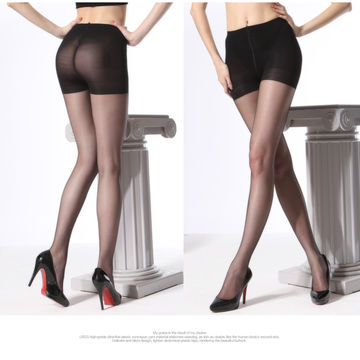 Naked support pantyhose nylon and