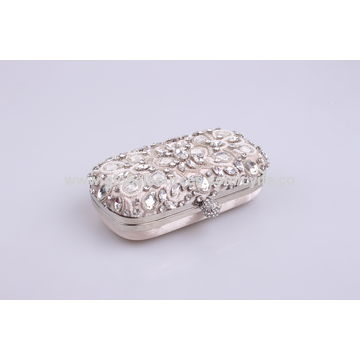 China Elegant ladies' pearl evening bag, party bag, suitable for wedding