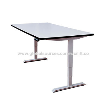 ... China Electric Height Adjustable Desk Frame For Students And Office  Staff ...