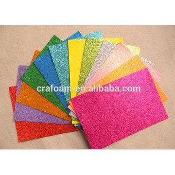 Foamy Glitter Vinyl Sheet