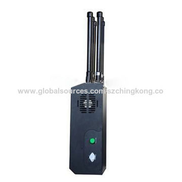 China High Power Backpack Mobile Phone Signal Jammer with 6
