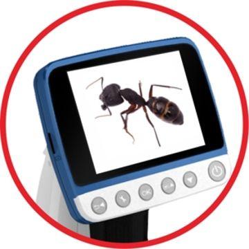 Taiwan LCD Desktop Digital Microscope, 3 5