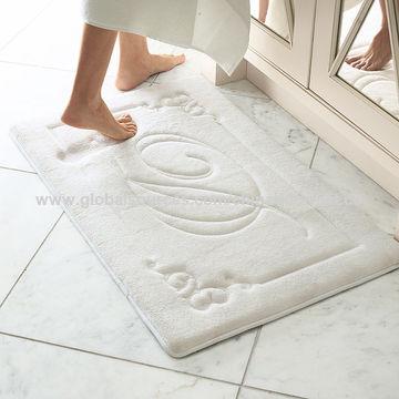 mats memory tan in mat allen romanesque border x pd polyester foam bath shop roth