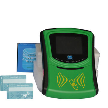 China Vehicle RFID reader supports card and QR scanner with
