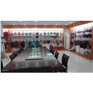 China Girls' Bikini, Straps with Beads, Customized Logos, Colors and Sizes are Accepted