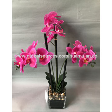 China artificial flowers clivia red silk flowers single stem red china artificial flowers clivia red silk flowers single stem red clivia w black uneven mightylinksfo