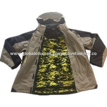 China Fashionable Ski Jackets, Hiking/Camping/Climbing/Fishing, Waterproof/Wind-proof/Antibacterial