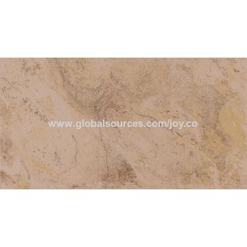 China Unglazed Travertine Floor Tiles Matte Italian Marble Tile