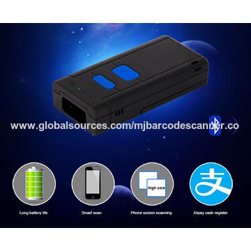 China Portable Bluetooth mini Barcode Scanner Reader
