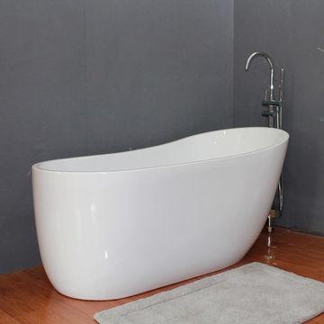 China Freestanding acrylic soaking bathtub, bathtub big size ...