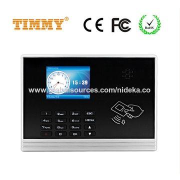 Hong Kong SAR NIDEKA TD300 RFID Card access control with time attendance recorder function