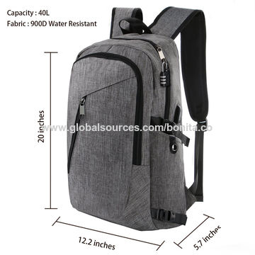 36a7f8f726 Lifewit 17.3 inch Leather Laptop Backpack Vintage Canvas Casual School  Collage Bag Business Travel Rucksack …