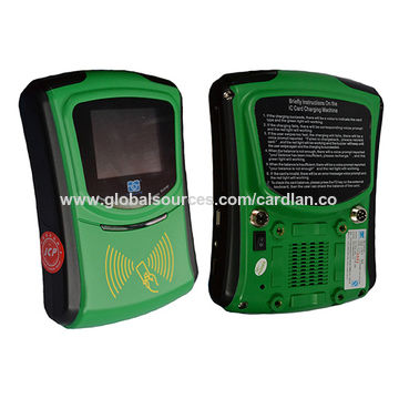 China On-board NFC reader writer with color screen and QR code