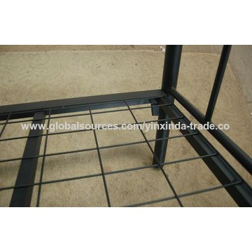 China Mesh Design Twin Size Wrought Iron Bed Frame Black On Global