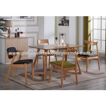 China Modern Seater Dining Table Wood Size On Global Sources - Modern 6 seater dining table and chairs