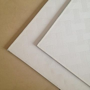 ... China High Quality PVC Paper Laminated Gypsum Boards False Ceiling Tiles  ...