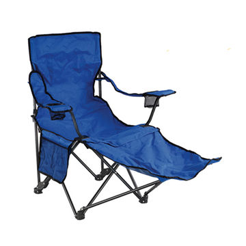 China Steel foldable polyester beach chair