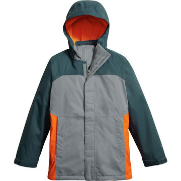 82a0e2b75 3-in-1 jacket for boy double layer snow jacket with removable fleece inner