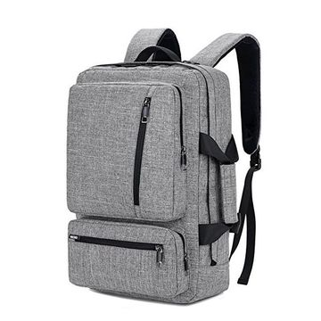 China 17 Inch Laptop Backpack With Side Handle And Shoulder Strap Travel Bag Hiking Knapsack