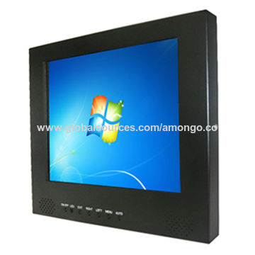 China Pcap Touch Lcd Monitor 9 7 Inch Microwave Sensor For Atm Rear Side
