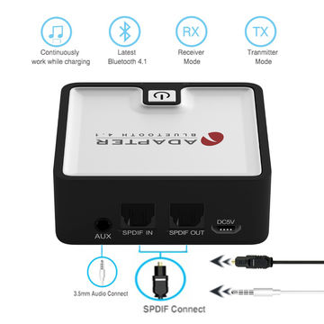 China Toslink SPDIF Digitial Toslink Bluetooth Transmitter
