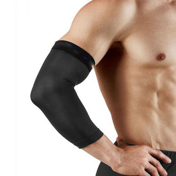 11cc0d0f52 ... China Black Copper Compression Elbow Sleeve for Better Training  Protection ...
