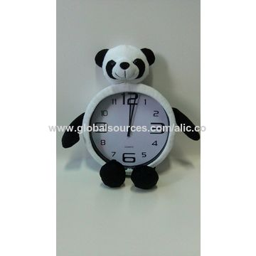 ... China Fashionable Design Wall Clock With Plush Toy Cover ...