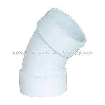 China Estandar De Astm D2665 Codo De 45 Grados Para El Agua Del