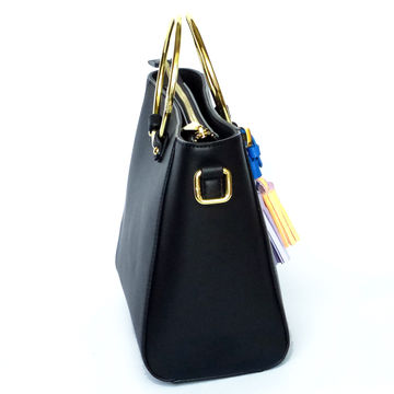 China Tassel handbag fashion leather bag hot sale PU leather ladies' bag nice