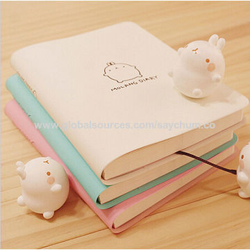 ... China Notebook Cartoon Molang Rabbit Journal Diary Planner Notepad for Kids Gift Korean Stationery ...
