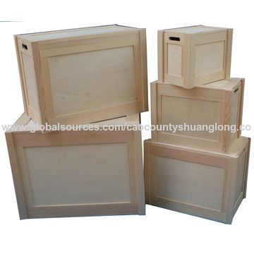 ... China Cheap natural color pine decorative wooden storage box with lid ...  sc 1 st  Global Sources & China Cheap natural color pine decorative wooden storage box with ...