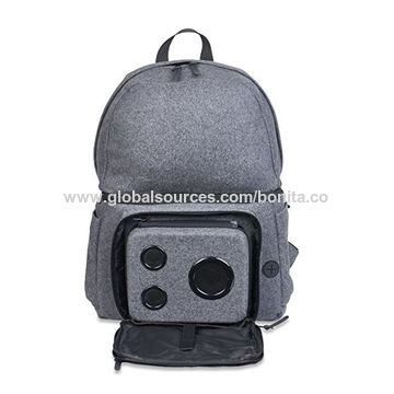 China Backpack Cooler With 15 Watt Bluetooth Speakers Subwoofer For Parties Festivals