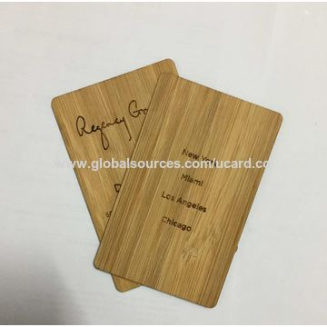 China wooden bamboo business cards on global sources china wooden bamboo business cards colourmoves Images