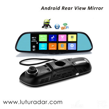 China 7-inch Android system frameless rear-view mirror with
