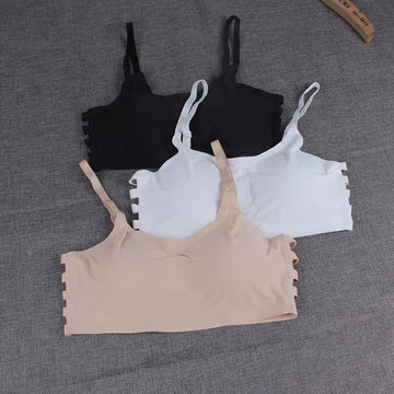 0231aceeb561a ... China One piece sports bra Ice silk bra breathable sports bra with removable  cup ...