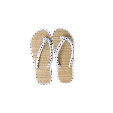 d614a644a4fcf8 ... China Women s Beach flip-flops straw sandals with Fabric Upper beach  shoes ...