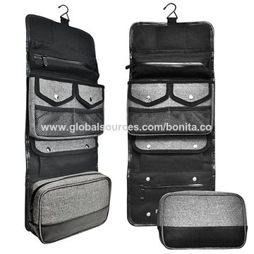 1a1527471a5b China Hanging Toiletry Bag Travel Kit Organizer Case with Removable ...