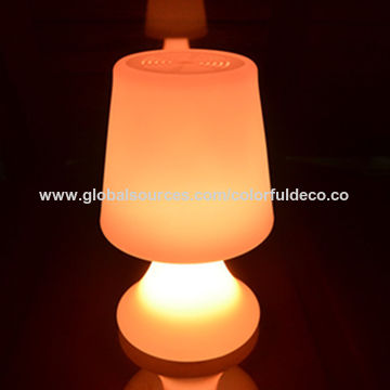 China A134 Indoor Battery Operated Illumination Led Home Decorative Table Lamp With Usb Output