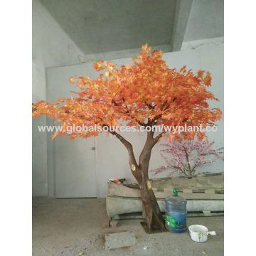 China rbol artificial del flor del melocotn del rosa de la fuente