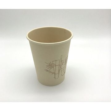 china disposable tea and coffee 100 bamboo paper cup