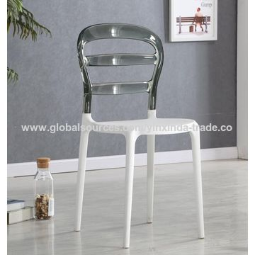 China Clear Gl Chair Plastic Resin Chairs And Stackable