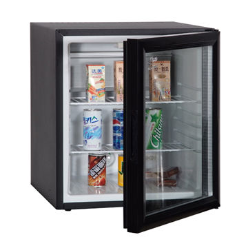 China 50l Absorption Mini Bar Fridge With Lock Solid Door Or Glass