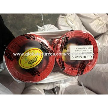 China Copper building wire/single core wire on Global Sources