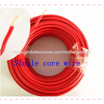 China Copper building wire single core wire on Global Sources