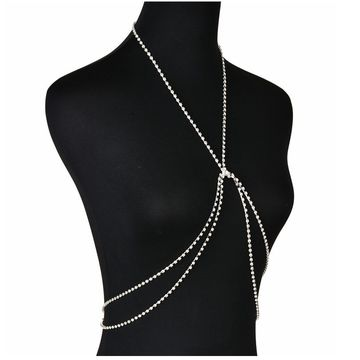 1a0d7a1067 ... China China accessories for girls crystal chain body jewelry sexy bra  body chain with rhinestones ...
