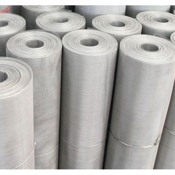 China S43000 stainless steel woven filter wire mesh screen on Global ...
